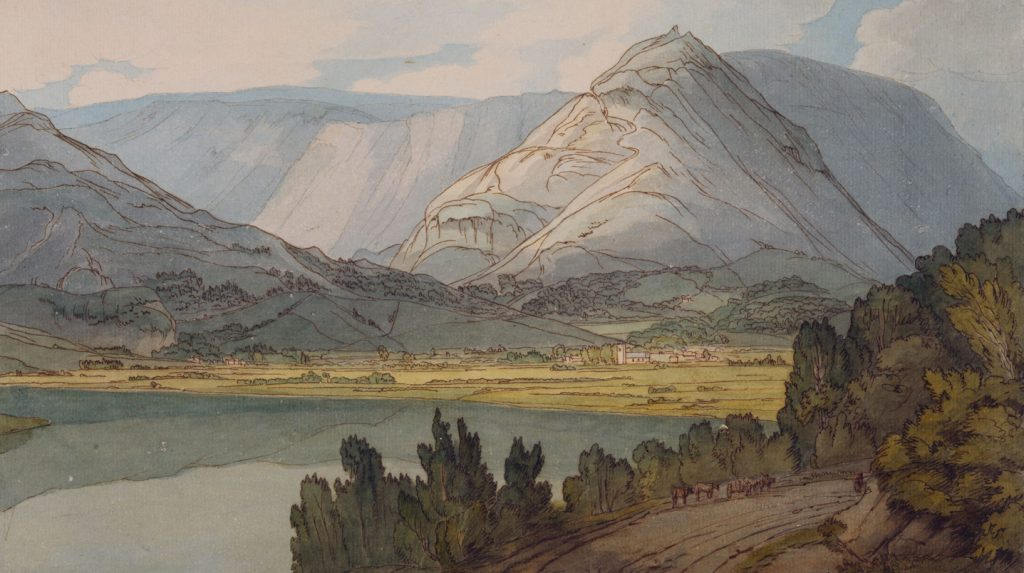 Painting of Grasmere, Lake District